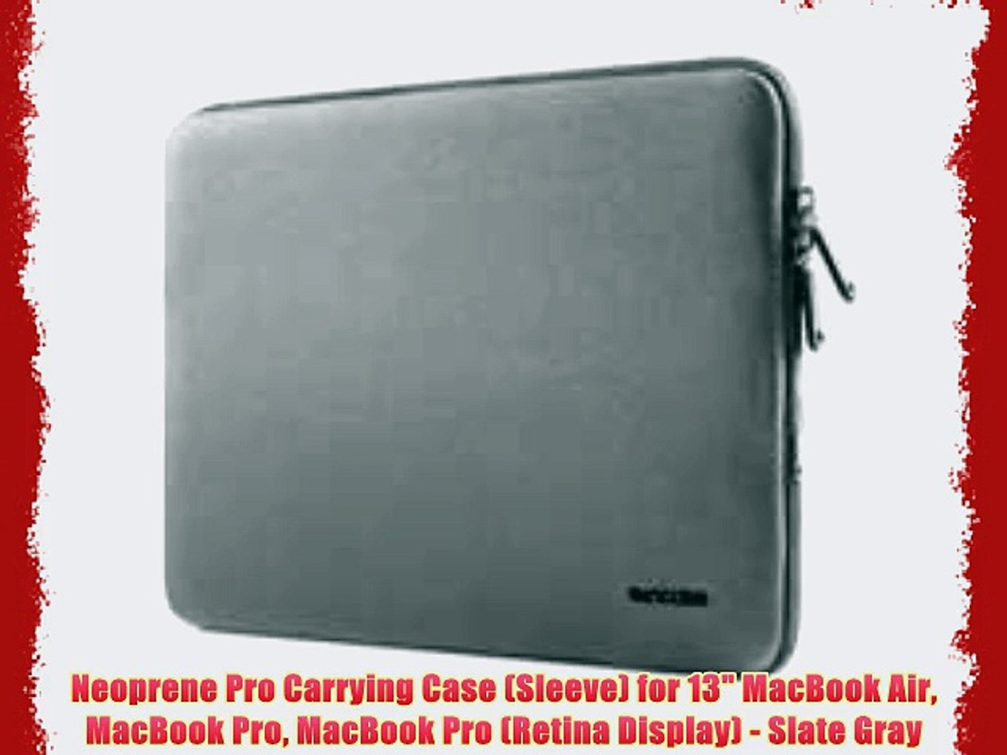 """Drive Logic Laptop Carrying Case for 13/"""" Macbook Air//Pro /& 13.3/"""" Chromebook"""