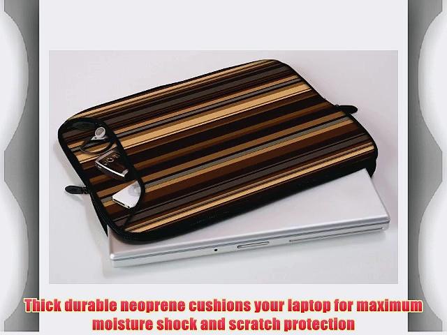 Designer Sleeves 14-Inch Coffee Laptop Sleeve Brown (14DS-COF)