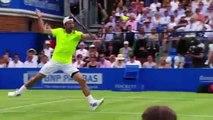 Rafael Nadal vs Alexandr Dolgopolov - Queens Club ATP Round of 32 match highlights