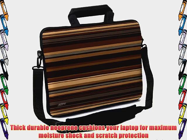 Designer Sleeves 13-Inch Coffee Executive Laptop Case Brown (13ES-COF)