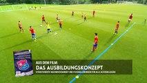 3 gegen 1 auf 6 Felder - Fußballübung für C Jugend und B Jugend