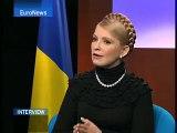 EuroNews - Interview - Julia Timochenko