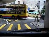 Driving in HKU hong kong island