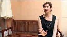 Interview d'Emmanuelle Devos - Cannes 2010