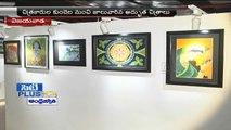 Painting Exhibition at Vijayawada Akruti Art Gallery by Machilipatnam Art Academy | (28-05-2015)