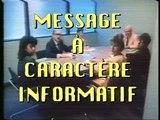Message a caractere informatif