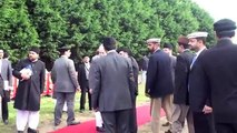Foundation stone laying Ceremony of first Ahmadiyya mosque- Hazoor's tour of Ireland-