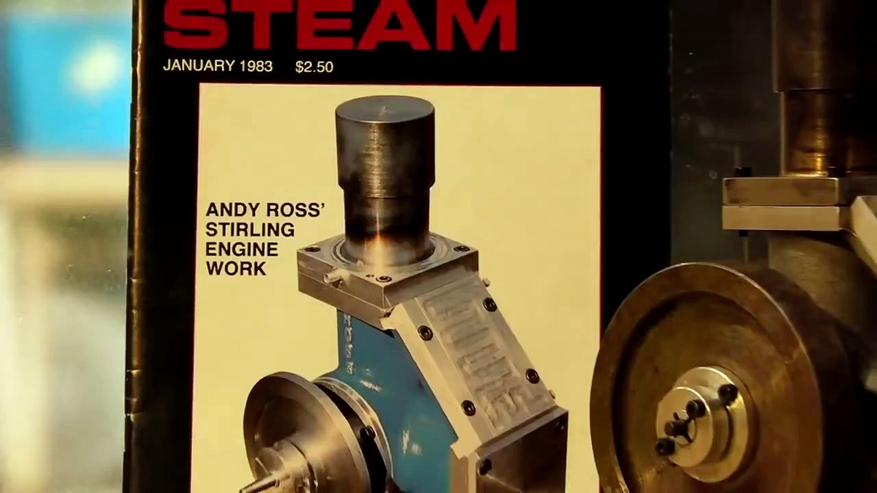 Stirling Engine By Andy Ross Diy Machining Video Dailymotion