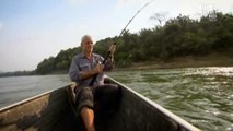River Monsters S4E5, Jeremy Wade brings out an XXL Potamotrygon Leopoldi in Amazon