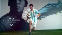 Charly Iacono Freestyle Inspired By Leo Messi -- adidas Football