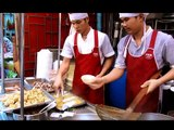 "BANGKOK THAI STREET FOOD : NOODLES from ""Hongkong Noodles"" in Bangkok Chinatown Travel Thailand"