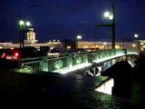Saint Petersburg : Views from the Dvortsoviy Bridge looking east