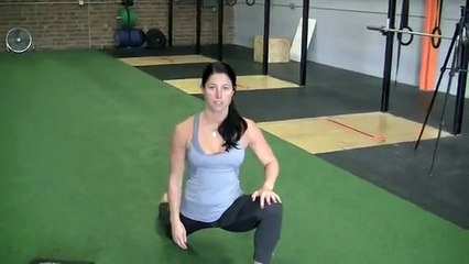 Thai Yoga Stretching Exercise, How to Stretch Adductor & Hip Flexor, Runners Lunge