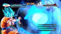 Dragonball Xenoverse DLC 3 Gameplay | SSGSS Son Goku / Vegeta