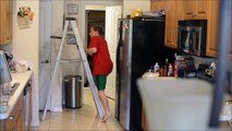 EXTREME Galaxy S6 Active Drop Test - 12 foot drop onto tile floor !