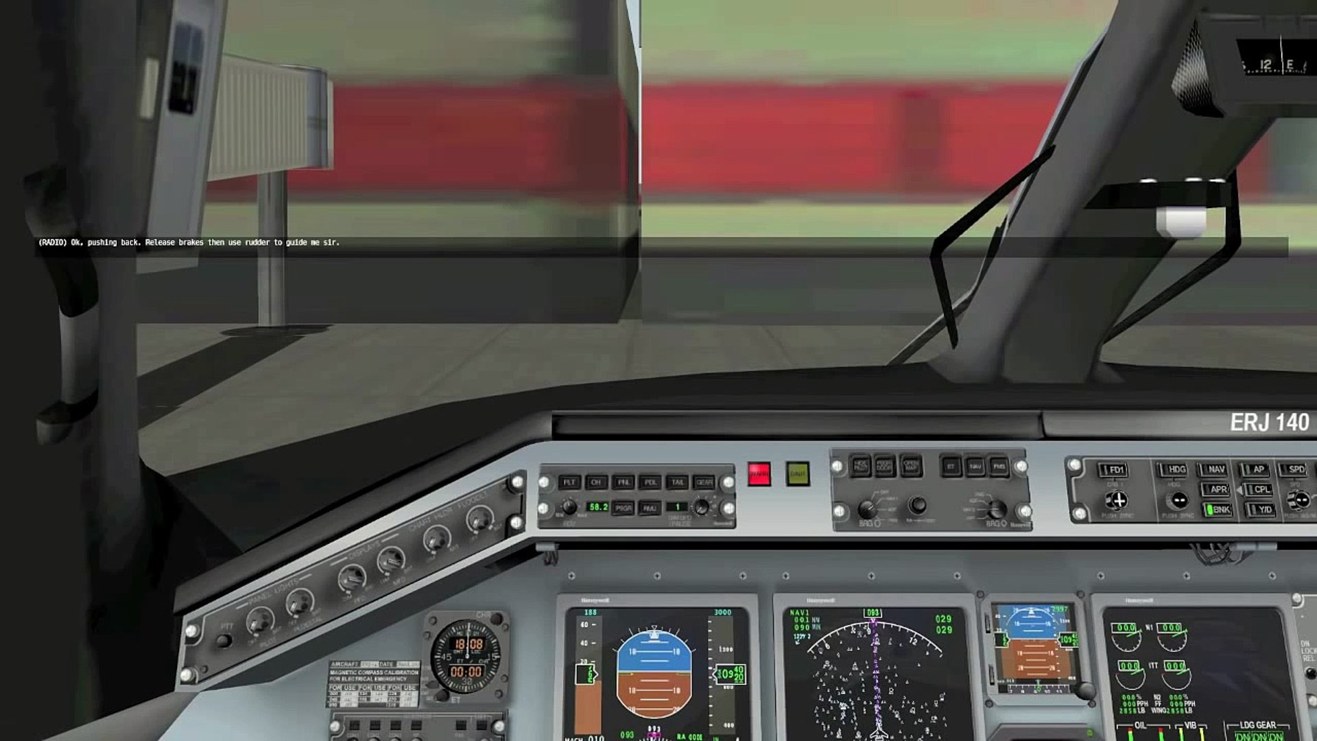 X-Plane Embraer ERJ-140 v2 by Daniel Klaue