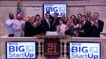 The NYSE Big StartUp rings the NYSE Closing Bell