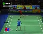 Badminton 2008 All England MS Final Lin Dan vs Chen Jin 5/5