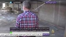 كاميرا الجزيرة مباشر ترصد الأوضاع الإنسانية في المليحة الغربية بريف درعا بعر سيطرة المعارضة عليها