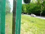 Tramvai in Orasul Sibiu, calatorie intre Dumbrava si Sibiu