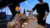 HoloLens Demo (Minecraft) (Xbox One) - E3 2015 (Microsoft HoloLens)
