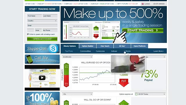 Japanese Binary Options Trading Websites i.e. 24Option, Plus500, Banc de Binary, UFX Markets