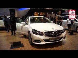 Mercedes Benz Luncurkan Lima Mobil Baru di IIMS 2013