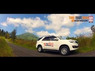 Uji Hankook Dynapro HT RH12 Ban SUV Khusus Aspal Mulus
