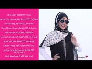 Inspirasi Mix And Match Hijab Untuk Tampil Edgy