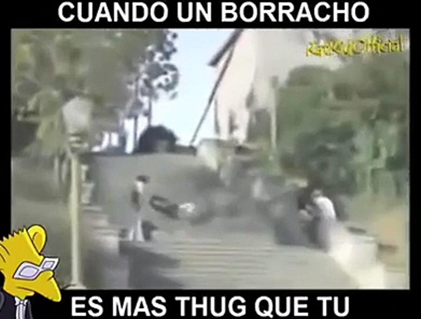 THUG LIFE - CUANDO UN BORRACHO ES MAS THUG QUE TU