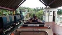 Dinosaur Roller Coaster Onride POV Suntopia World Japan Jet Coaster