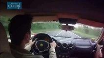 Dans sa Ferrari F430, il a eu la peur de sa vie