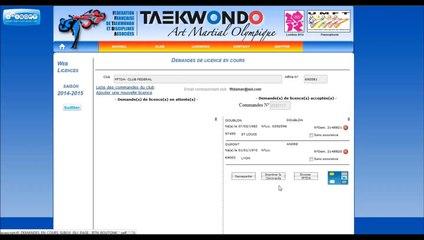 Licence Web FFTDA