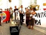 Funeral Procession: Demonstration against Censorship in Malta - Speech by Jasmina Kotevska