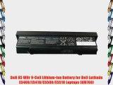 Dell 85 WHr 9-Cell Lithium-Ion Battery for Dell Latitude E5400/E5410/E5500/E5510 Laptops (KM760)