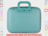 Cady Messenger Cube SKY BLUE Ultra Durable Tactical Leather -ette Bag Case fits Lenovo Yoga
