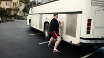 TWERK FAIL: White Boy Twerks on Moving Vehicle *SCANDALOUS*