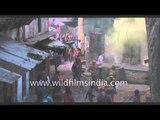 Colour fest on Indian streets: Gokul at Holi!