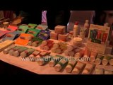 Blossom Kochhar beauty products being sold in Rishikesh