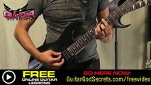 How To Play Black Star Intro by Yngwie Malmsteen - Free Guitar Lessons