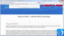Pangu How to Untethered Jailbreak iOS 8.3 Using Pangu on iPhone 6,iPad and iPod touch 4G & 5G