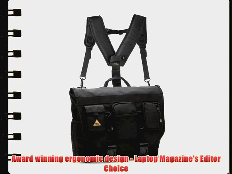 Bbp Hamptons Hybrid Messenger Backpack Laptop Bag Obsidian Black Large Video Dailymotion