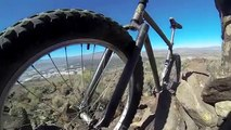 Top of The Ridge Fixed Gear  Fat Bike Celtic Mountain Bike sixer 29er Niner Danny Macaskill Tribute