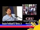 Sen. Bongbong Marcos - Centro Escolar University's History Week Celebration (14 September 2010)