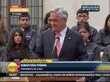 27NOV 1009 TV10 DECLARACIONES DEL PRESIDENTE DE CHILE SEBASTIÁN PIÑERA  SOBRE LA HAYA PERÚ    CHILE