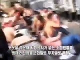 Cảnh sát Hàn Quốc đánh đập,đàn áp dã man người biểu tình ( yếu tim ko xem )