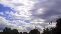 Time Lapse - clouds #5 (with rainfall & sunset)