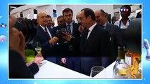 François Hollande ivre au salon Vinexpo