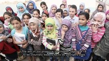 Drawing smiles on the faces of Syrian refugee children in Turkey