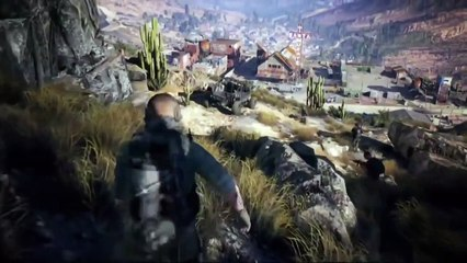 Tom Clancy's Ghost Recon: Wildlands - gameplay E3 2015 de Tom Clancy's Ghost Recon : Wildlands